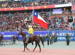 Equipo del Criadero Los Cóndores alcanza el bronce en el Mundial Ecuestre realizado en China