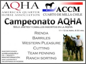Campeonato Otoño AQHA – ACCM