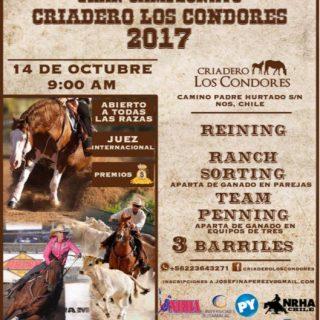 Gran Campeonato Criadero Los Cóndores 2017