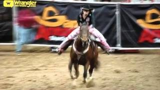 2016 SAN ANTONIO STOCK SHOW & RODEO BARREL RACING FINALS.
