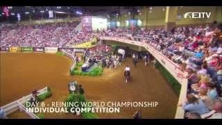 Highlights 2010 WEG – Individual Reining Competition