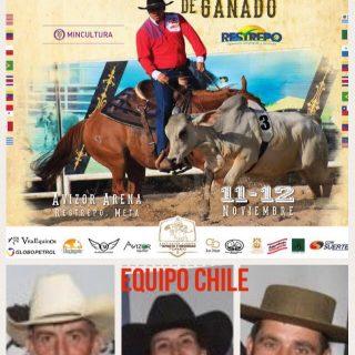 Chile en el Mundial de Team Penning en Colombia